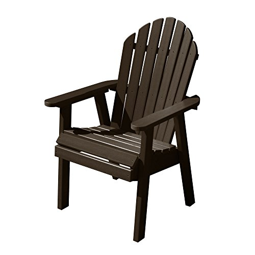 Highwood Hamilton Deck Chair, Weathered Acorn