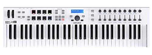 Arturia KeyLab 61 Essential | 61 Key MIDI Controller Keyboard by Arturia