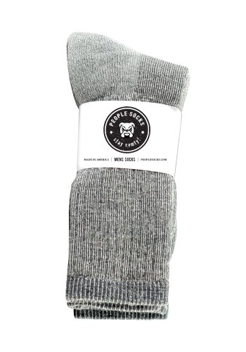 People Socks Men's Merino Wool Blend below Calf (4 Pairs)