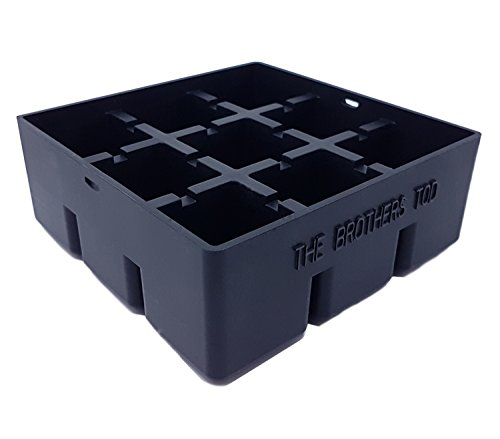 Premium Quality Ice / Cake Cube Tray makes 9 - 1.57