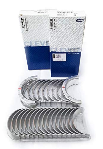 (CLEVITE Rod & Main Bearings CB663A MS2199A Chevy 4.8L 5.3L 5.7L 6.0L 6.2L LS Series (.020))
