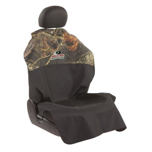 Bergan Heavy Duty Poncho Front Seat Protector, Mossy Oak