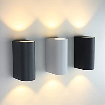 Up Down Outdoor Lighting Em 2x3w ip65 led porch light up down outdoor lighting wall lamps em 2x3w ip65 led porch light up down outdoor lighting wall lamps dual head cylinder workwithnaturefo