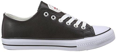 Nebulus Damen Legara Sneaker, Schwarz (Black), 41 EU
