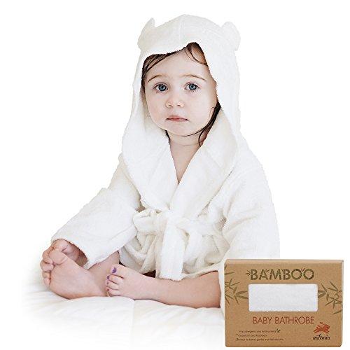 Extra Soft Bamboo Hooded Bathrobe For