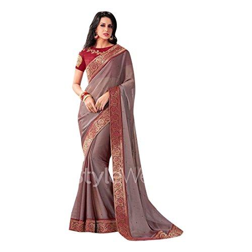 Saree Designer Sari Drape Dress Maßanfertigung Custom to Measure ...