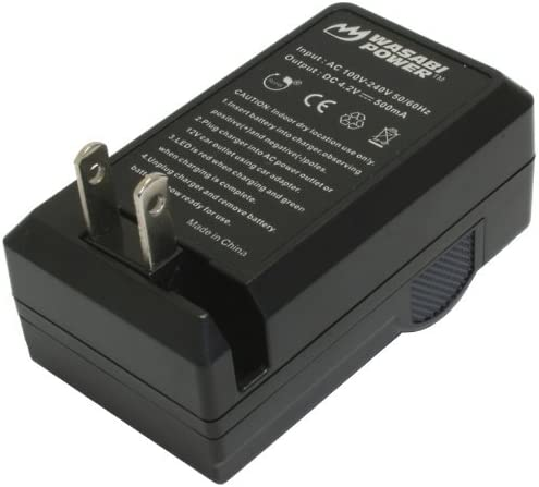 BN-VG121 Wasabi Power Battery Charger for JVC BN-VG107 BN-VG138 AA-VG1 BN-VG108 BN-VG114