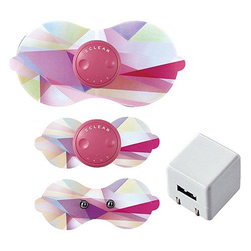 【アダプターセット】エレコム HCT-P01PN2 ピンク 家庭用EMS機器 エクリア リーン フルセット (HCTP01PN2)(ELECOM)   B0798D9M8N