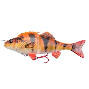 Pike Lures Perch Swimbait 4D Line Thru Savage Gear