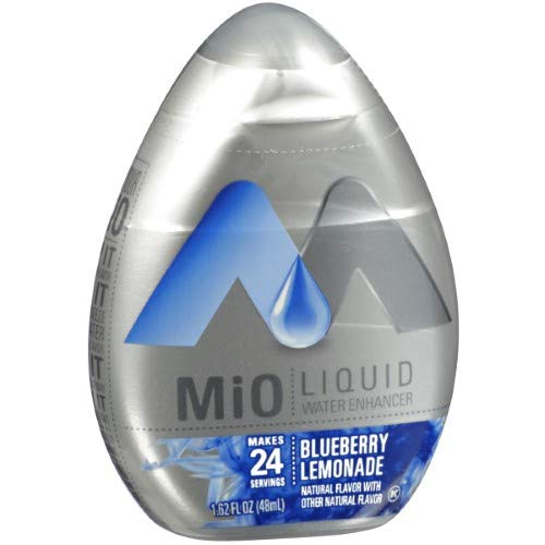 Mio Liquid Water Enhancer, Blueberry Lemonade (Pack of 36)