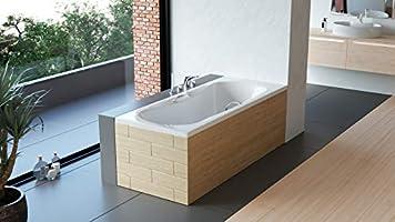 Vasca Da Bagno 170 70 Prezzi : Premium vasca da bagno rettangolare sofi 130 140 150 160 170 x 70 cm