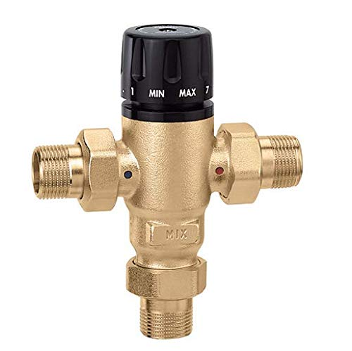 3/4 inch NPT MIXCAL 3-Way Thermostatic Mixing Valve (Lead Free) 521500A (Caleffi Mixing)