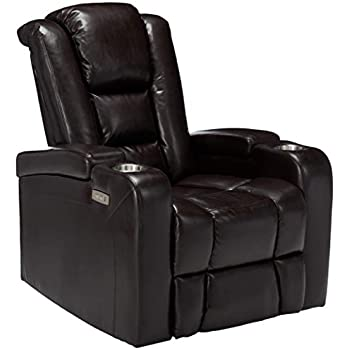 Cool Christopher Knight Home Everette Power Motion Recliner Brown Pdpeps Interior Chair Design Pdpepsorg