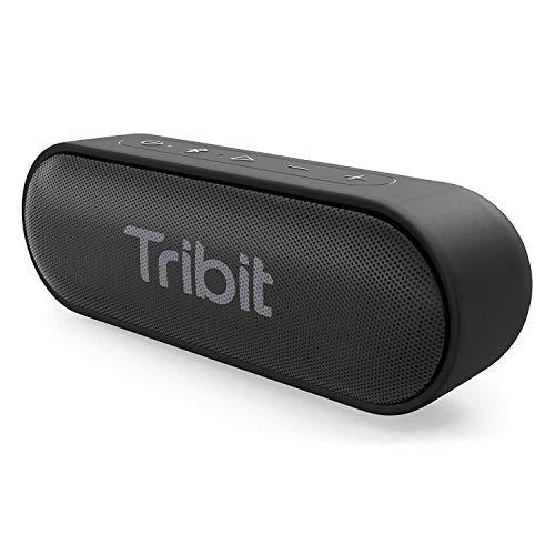 Tribit XSound Go Bluetooth-luidspreker, draagbare luidspreker, IPX7, waterdicht, 12 W, draadloze luidspreker met bas…