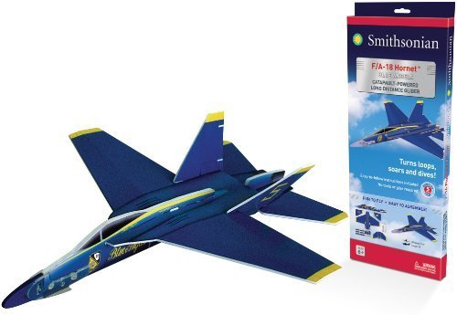 Smithsonian Giant F-18 Blue Angels Glider by Smithsonian