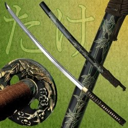 Ryumon RY-3202 Samurai Sword with Ray Skin Handle