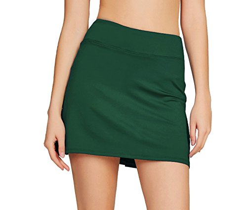 Cityoung Women's Casual Pleated Golf Skirt with Underneath Shorts Running Skorts – DiZiSports Store