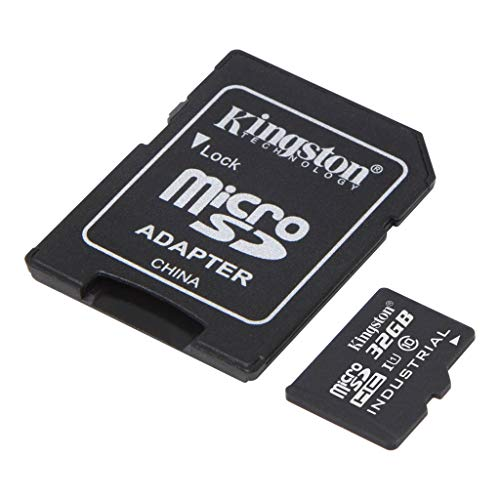 Kingston Industrial Grade 32GB Canon PowerShot SX260 HS Green MicroSDHC Card Verified by SanFlash. (90MBs Works for Kingston)