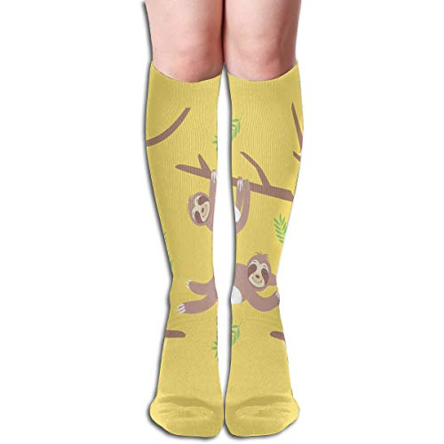 Socks Yellow Sloth Fantastic Womens Stocking Party Sock Clearance for Girls ()