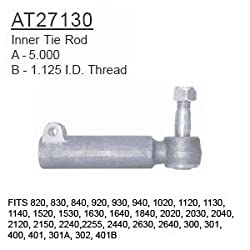 AT27130 John Deere Parts Inner Tie Rod 820, 830, 8