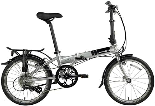 Dahon Mariner Folding Bike 20-inch Wheels Brushed Silver