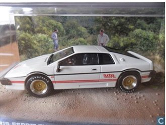 Lotus Esprit Turbo (Lotus Esprit Turbo (1980) Diecast Model Car from James Bond For Your Eyes Only)