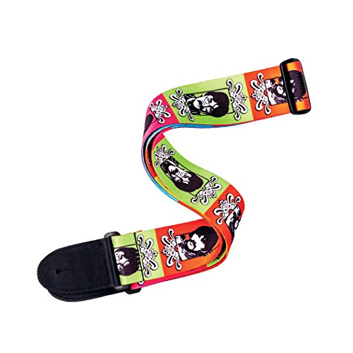 D'Addario Beatles Woven Guitar Strap, Sgt. Pepper's 50th Anniversary (Rock Guitar Band Strap)