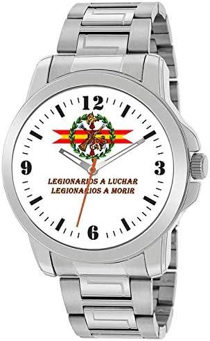 Reloj Legión Española Acero: Amazon.es: Relojes