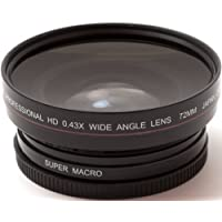 AGFA 72mm 0.43X Super Macro Wide Angle Lens APWAG72
