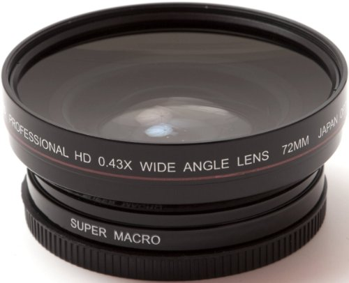 AGFA 72mm 0.43X Super Macro Wide Angle Lens APWAG72