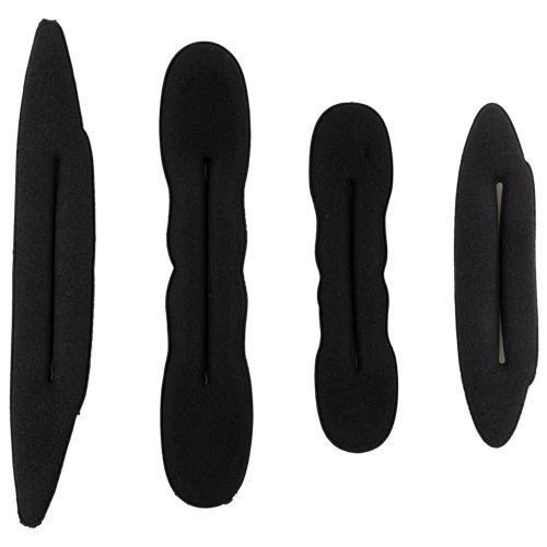 Set 4pezzi spugna di Chignon bigodino Pro per capelli SROVFIDY