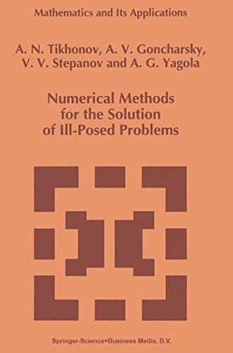 Numerical Methods for the Solution of Ill-Posed Problems (Mathematics and Its Applications) by Brand: Springer