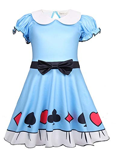 Baby Doll Surprised Girl's Dress Princess Halloween Christmas Party Cosplay Costume -