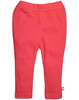 Baby Skinny Leggings Red 6 Months