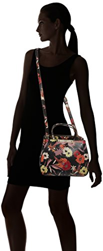X Borsa Guess Cm Floral A Hwff6693050 w blk 5 12x22 L Mano Multicolore 5x28 H Donna vvARWw8nS