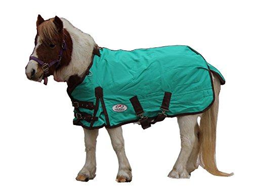 Derby Originals 1200D 300G Heavy Duty Mini Horse Winter Turnout (Plaid Turnout Blanket)
