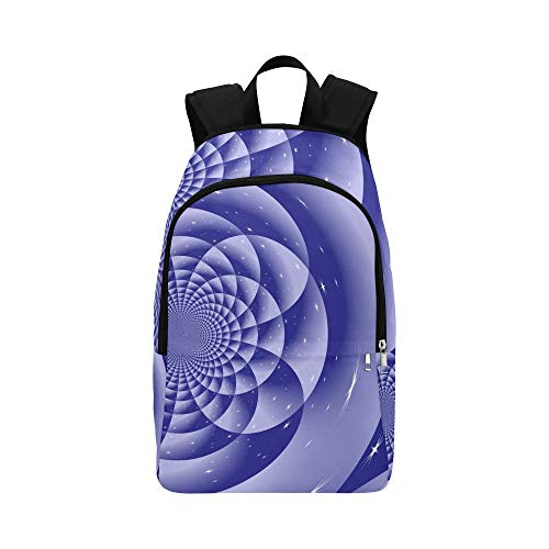 XINGCHENSS Graphic Pattern Greeting Card Abstract Casual Daypack Travel Bag College School Backpack Mens Women