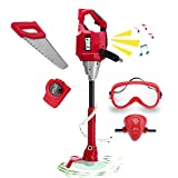 Kids Power Tool Toys Weedeater for Boys, Boys Play Toy Outdoor Lawn Tools Weed Trimmer for Toddlers