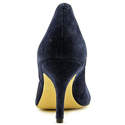 Blue Suede Heels INC W Concepts Navy Zitah Women Toe Pointed International xq8pwzqCO