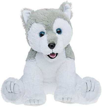 Cuddly Soft Stuffed Husky stuff