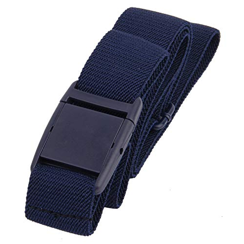 Gelante Women Invisible Belt - Elastic Adjustable Slimming No Show - 2045-Navy -