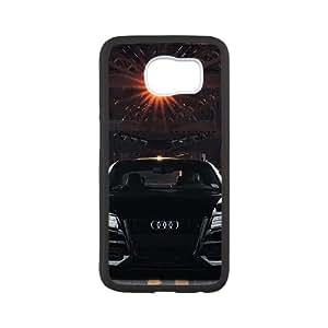 Audi Samsung Galaxy S6 Cell Phone Case Black Exquisite designs Phone Case KM5J7467