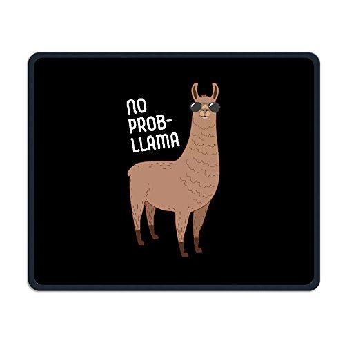 No Prob-Llama Cool Llama With Sunglasses Customized Funny Rectangle Non-Slip Comfortable Rubber Mousepad Gaming Mouse - Peeling Sunglasses