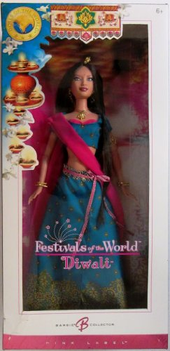 Barbie Collector Diwali Barbie Doll Festivals Of The World