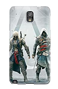 New Style 8214818K23446559 For Assassins Creed Altair Ezio Connor Edward Protective Case Cover Skin/galaxy Note 3 Case Cover
