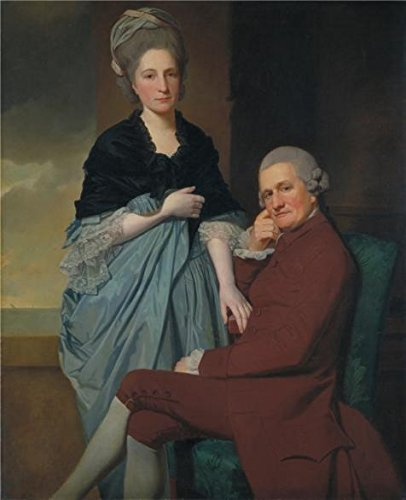 Old Gym Teacher Costume ('George Romney - Mr And Mrs William Lindow,1772' Oil Painting, 16x20 Inch / 41x50 Cm ,printed On Perfect Effect Canvas ,this Cheap But High Quality Art Decorative Art Decorative Canvas Prints Is Perfectly Suitalbe For Gym Artwork And Home Artwork And Gifts)