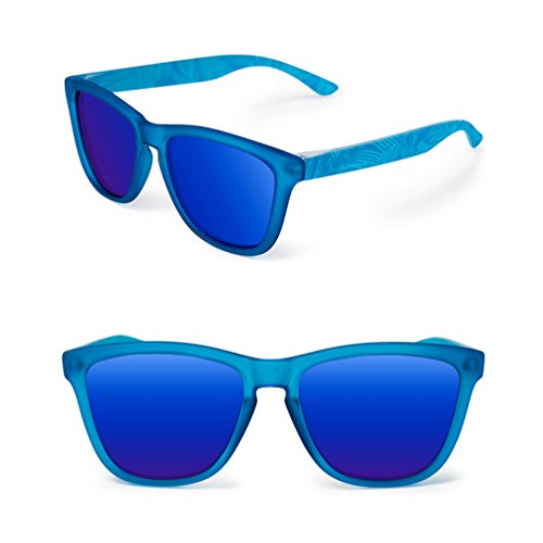 sol Men Personality Sunglasses Blue Summer Drive New mujeres para HL polarizadas Sunglasses Gafas Mirror de Driver 51q6A