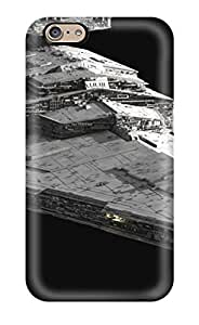 For Iphone 6 Tpu Phone Case Cover(artistic Imperial Star Destroyer)