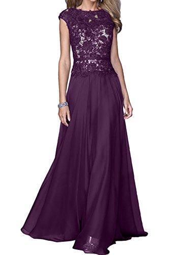 Rundkragen Linie Lang Spitzenkleider Damen Liebling Ivydressing A Traube Partykleider Abendkleider Promkleider gxqwROw0E