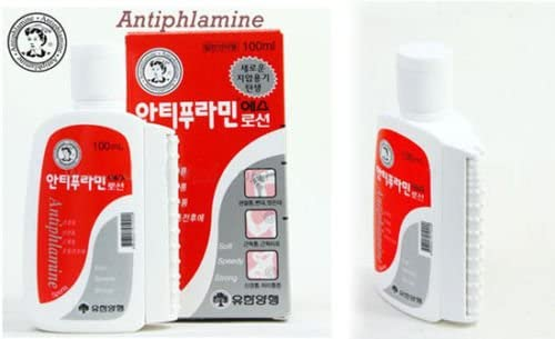 2 bottles * 100ml - Antiphlamine Korea Massage Oil 100ml - Relieve Pain KOREA